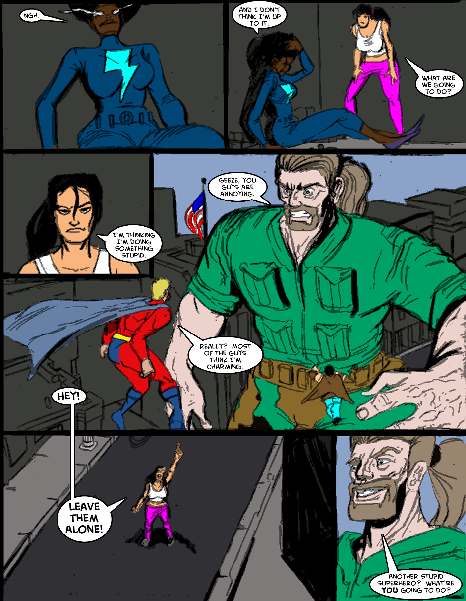 Issue 1: The First Mission - Page 12